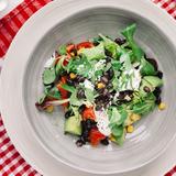 Black bean, corn, & tomato salad