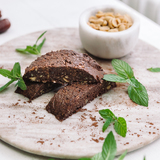 Chocolate peanut chia bar