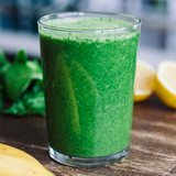 Lemon and spinach smoothie