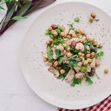 Turkey arugula salad