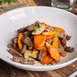Stir fried beef & vegetables