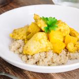 Pineapple chicken quinoa