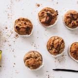 Banana & bean muffins
